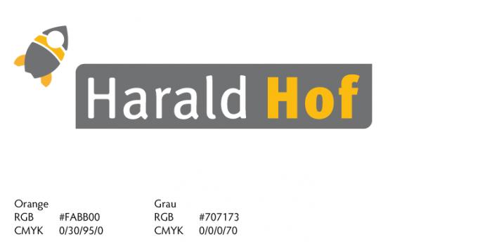 Harald Hof, Logogestaltung GründerASS