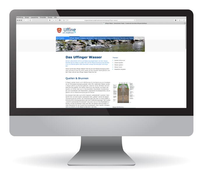 Webdesign Gemeinde Uffing